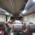 01ウィラーのバス車内